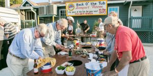 Tubby's Oyster Roast Offers Networking in Coastal Setting