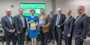 Irish Delegation Meets with Visit Savannah Staff