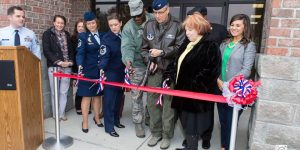 165th Airlift Wing, Georgia Air National Guard Holds Ribbon Cutting