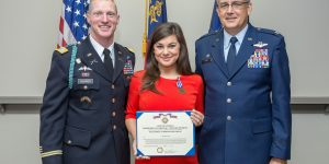 Chamber's Director of Community Relations Honored by Georgia National Guard