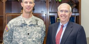 Savannah Chamber Board Says Farewell To LTC Bowman