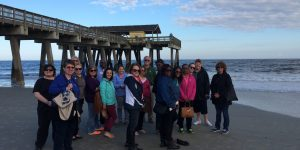 Representatives from Georgia State Visitor Centers visit Tybee Island