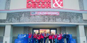 Floor & Decor Celebrates Ribbon Cutting