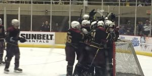 Savannah Tire Hockey Classic Awards Thrasher Cup to Florida State