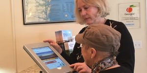 Visit Tybee Visitor Center Installs iPad to Assist Visitors