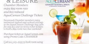 Chamber Member Discount for AquaCurean Challenge Weekend