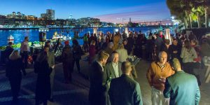6th Annual Oyster Roast Offers Networking in a Sparkling Setting