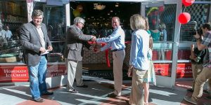 River Street Sweets/Savannah's Candy Kitchen Celebrate Ribbon Cutting