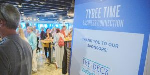 The Deck Hosts Tybee Time Business Connection