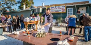 Chamber's Oyster Roast Business Connection Treats Guests to Fresh Seafood and Networking