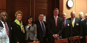 Chamber Attends Military Meetings in Washington, D.C.