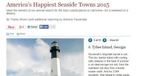 Tybee Island Receives Two Summer Accolades