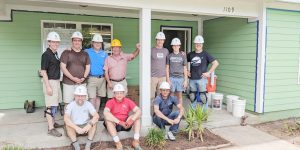 Visit Savannah President Helps with Habitat for Humanity