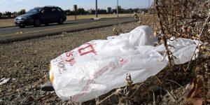 Visit Savannah Dumps Plastic Bags