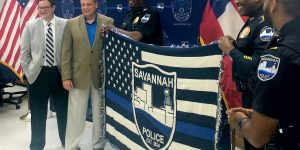 Savannah PD Says Thank You to Tourism Industry