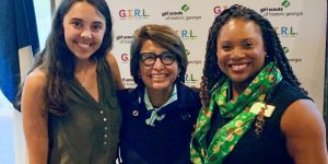 Visit Savannah Attends Luncheon with Girl Scouts CEO Sylvia Acevedo