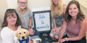 Tybee Island Welcomes Special Guide Dog Guest