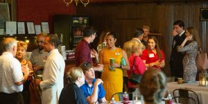 Chamber Holds September Coffee Chats at Savannah Station