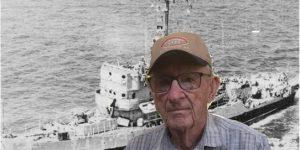 Veteran Who Served on Savannah-Built Ship Visits MLK Visitor Center