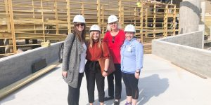 Visit Tybee Takes Tour of New Marine Science Center Progress
