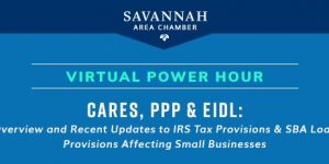 Chamber Hosts Virtual Power Hour Highlighting Tax Provisions, PPP, EIDL and More