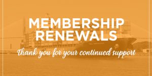 Membership Renewals for the Week of August 24