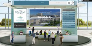 Visit Savannah and Savannah Convention Center Sales Teams Attends First Virtual Trade Show