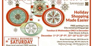 City of Savannah and City of Tybee Island Offer Free Holiday Parking