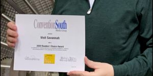 Convention South Readers Choose Savannah as a South's Best