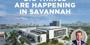 Governor Kemp and Local Officials to Break Ground on the Savannah Convention Center's Expansion on Wednesday, March 17