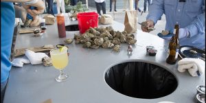 Members Enjoyed the Spring Oyster Roast at Tubby's Tank House- Thunderbolt