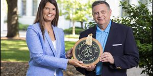 """Visit Savannah Honored with the """"SCAD Salutes"""" Award"""