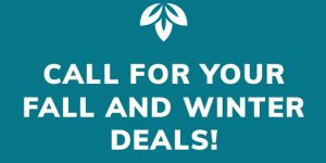 Call for Fall and Winter Deals