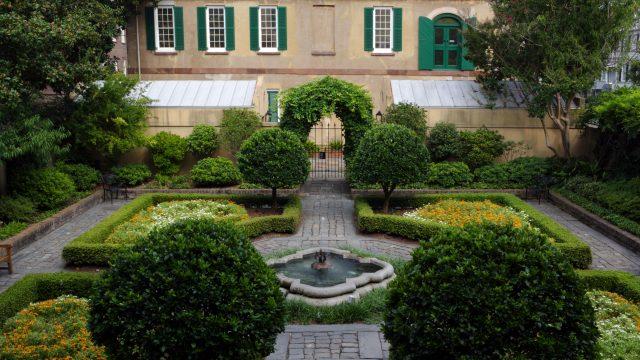 Owens-Thomas House Gardens & Slave Quarters
