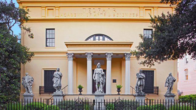 Telfair Academy exterior
