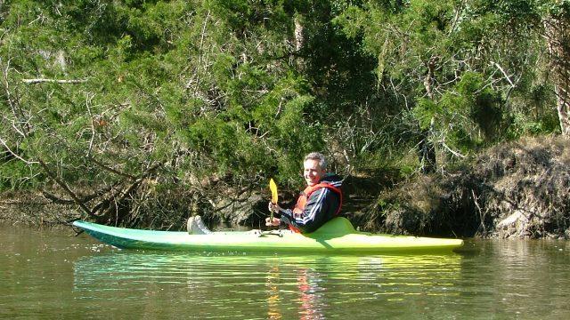 Kayaking Moon River