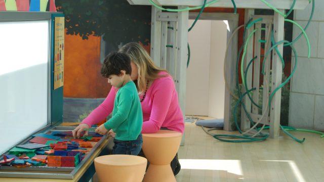 Mother and child in ArtZeum