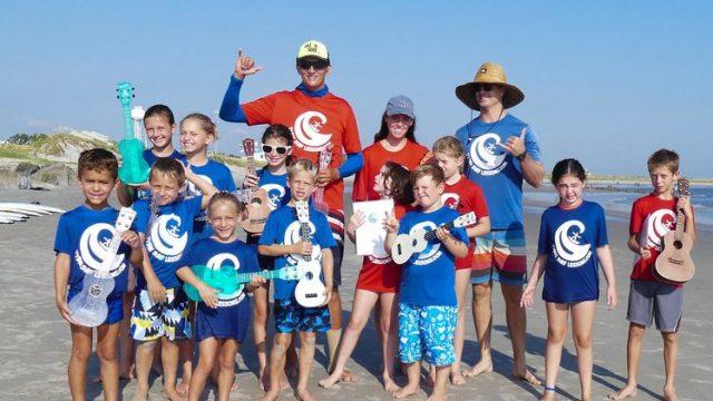 Uke N Surf Kids Summer Camp