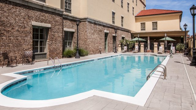 Exterior Pool and Courtyard