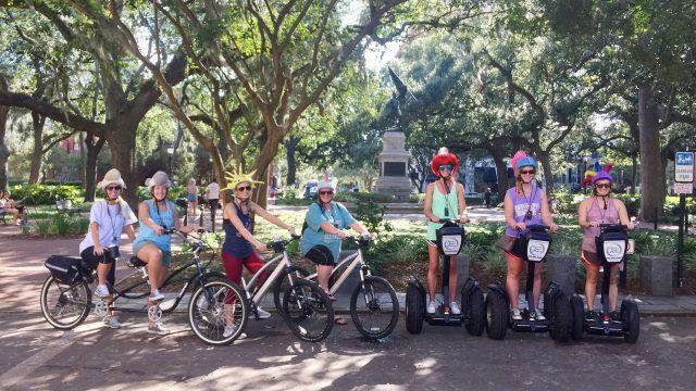 Segway and E-Bike Fun