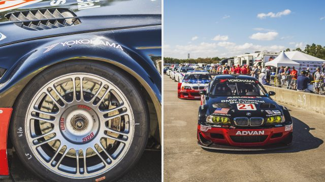 Wheel to wheel racing