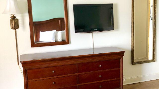 Front Building Dresser & TV