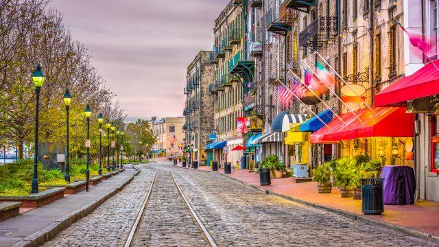 Stay in Savannah