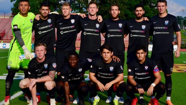 Last season in the PDL, Deep South Division Champions