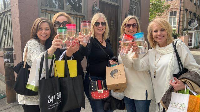 Sip n' Shop Savannah Tours