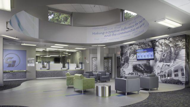 Lathrop Branch Lobby