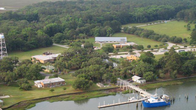 Skidaway Campus Aerial
