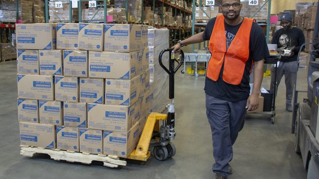 Supported Employment Services : Warehousing