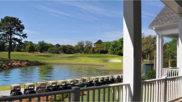 Savannah Golf Club Veranda
