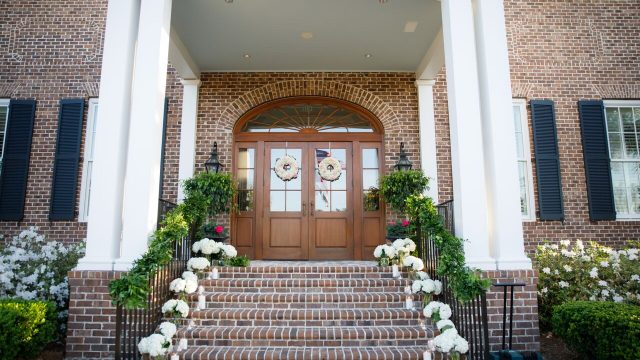 Front Steps of SGC